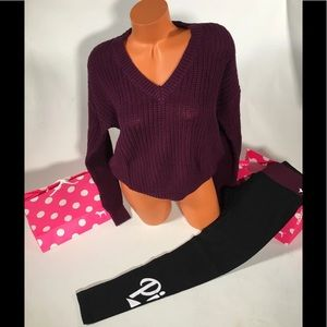 NWT vs pink outfit sz small
